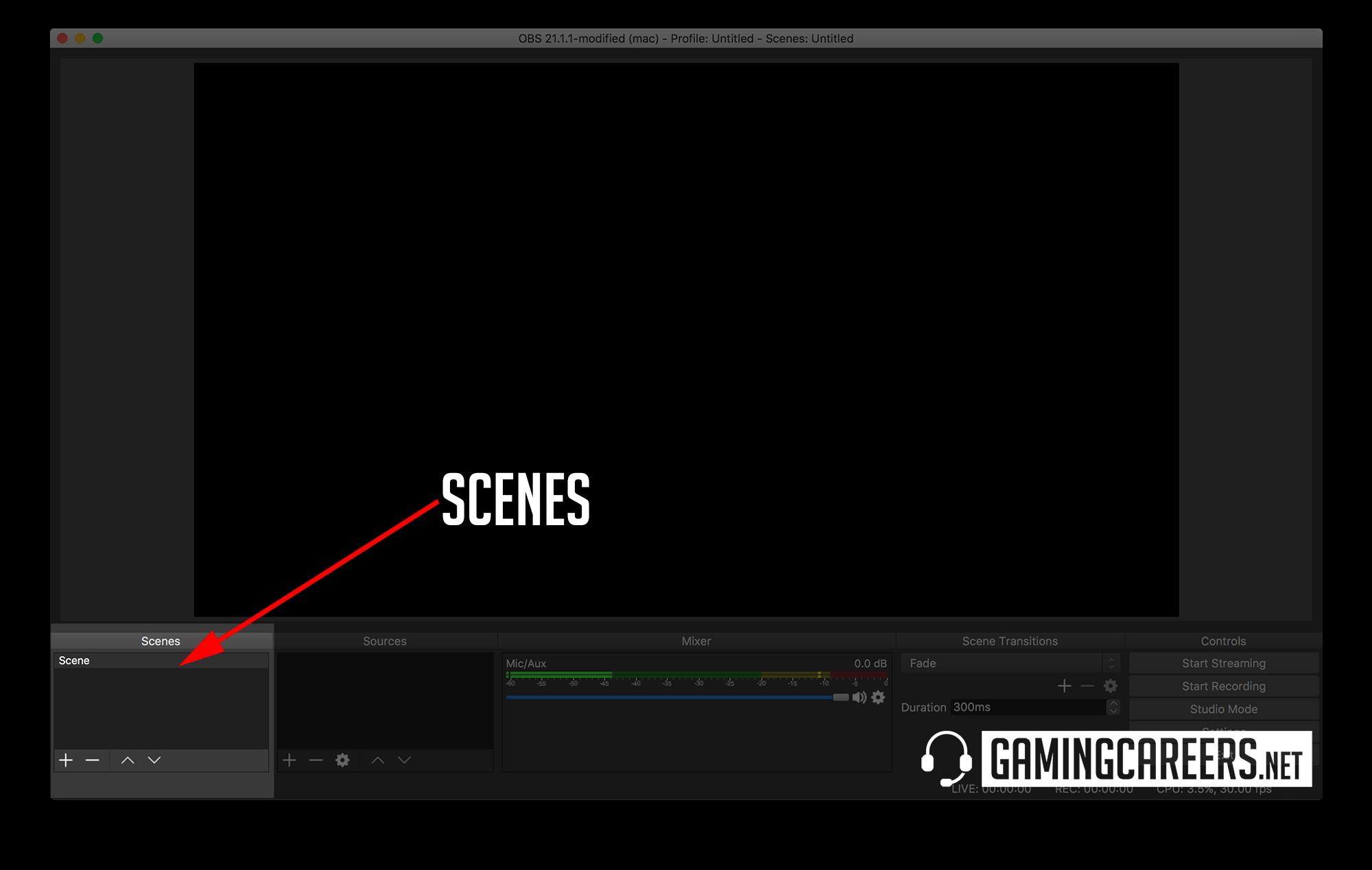 OBS Studio Twitch Guide Scenes