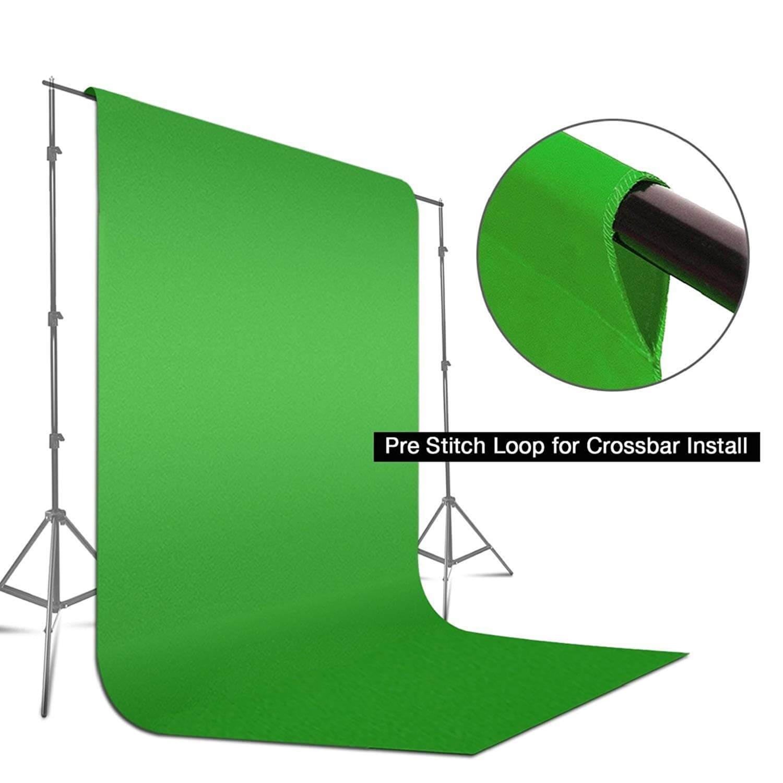 LimoStudio 9x15ft Green Backdrop 3