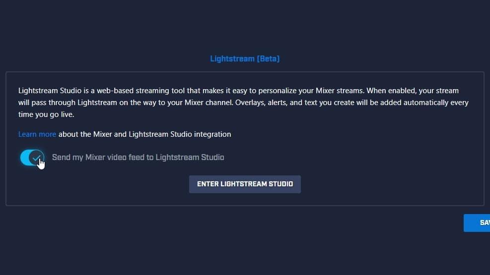 Lightstream Integration