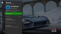 Xbox Mixer Start Broadcast