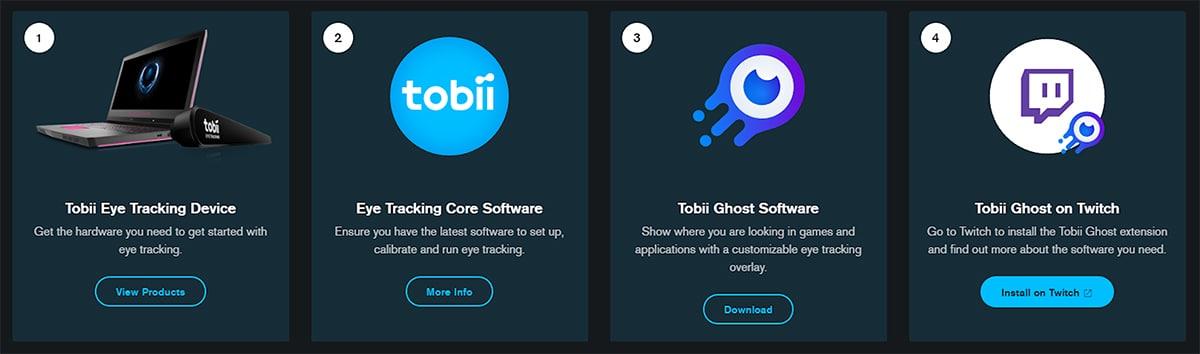 Tobii EyeTracker Software Downloads