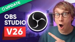 OBS Studio V26 Thumbnail