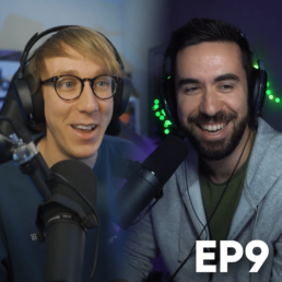 Gaming Careers Podcast EP9 Thumbnail Square