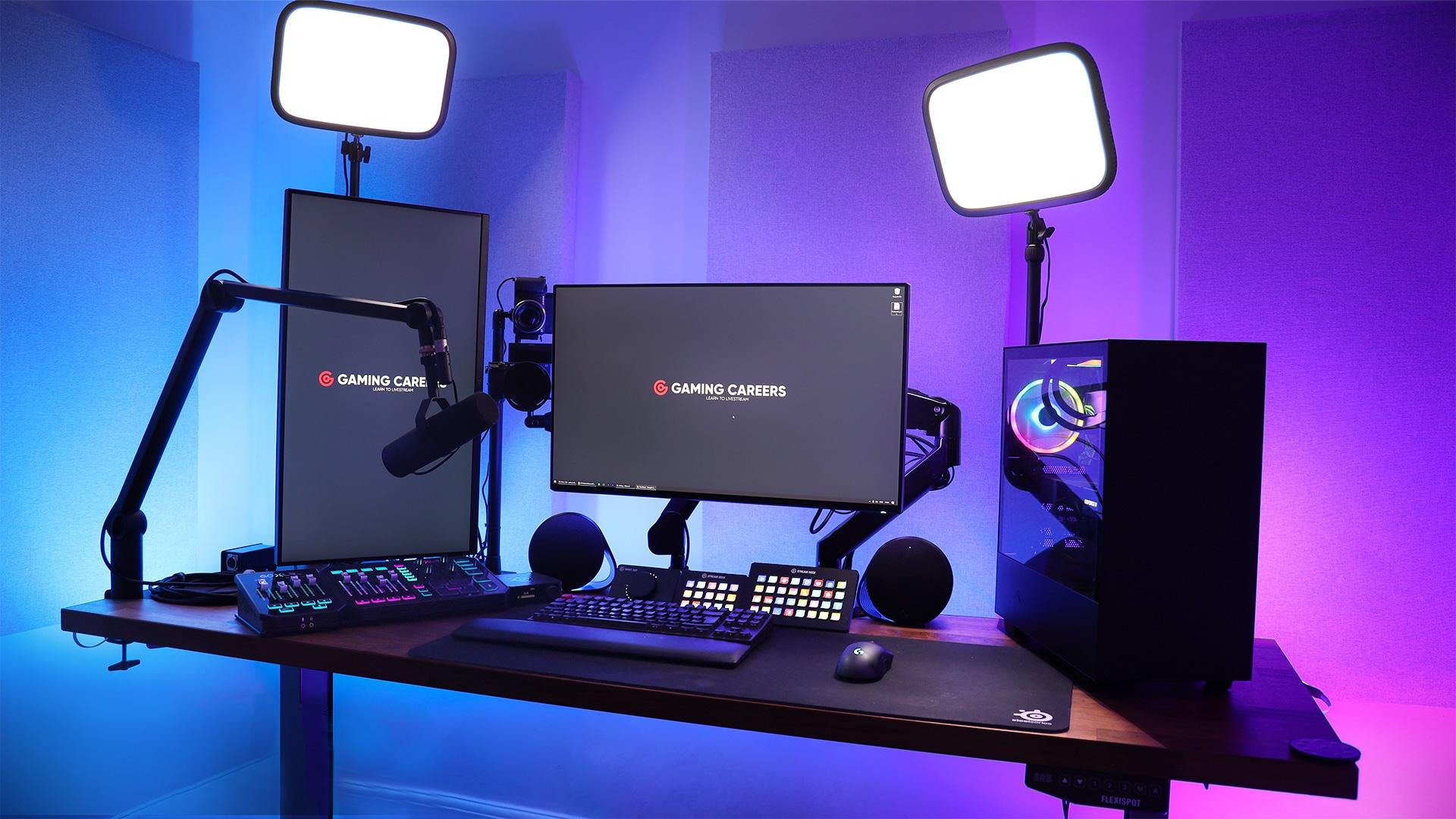 The ULTIMATE Streaming Setup - Desk & Studio Tour